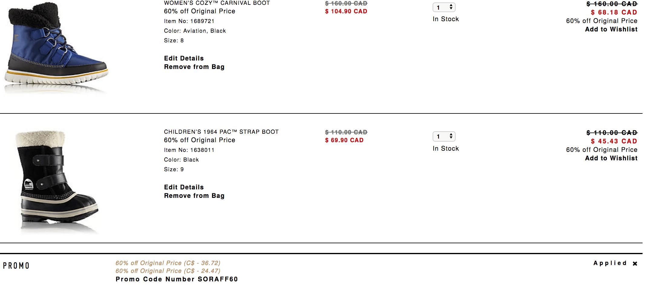 Discount freebies