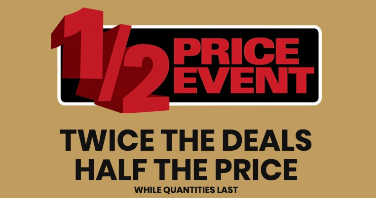 Lowe's Canada Half Price Event