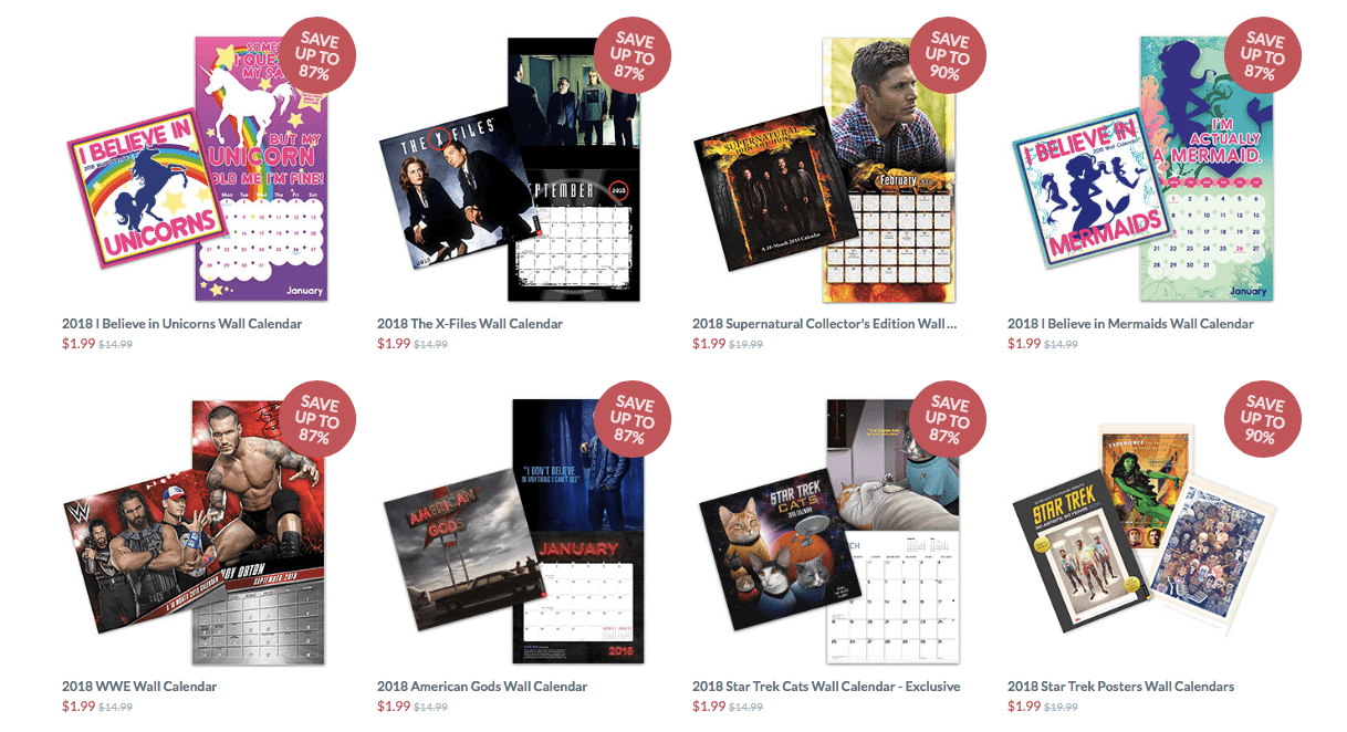 If you really want think geek stuff (assuming it isn't firefly licensed stuff), my suggestion would be to befriend an HMV store manager. They have a purchasing agreement with TG, but store mangers can pick and choose from the whole catalog on what to order.