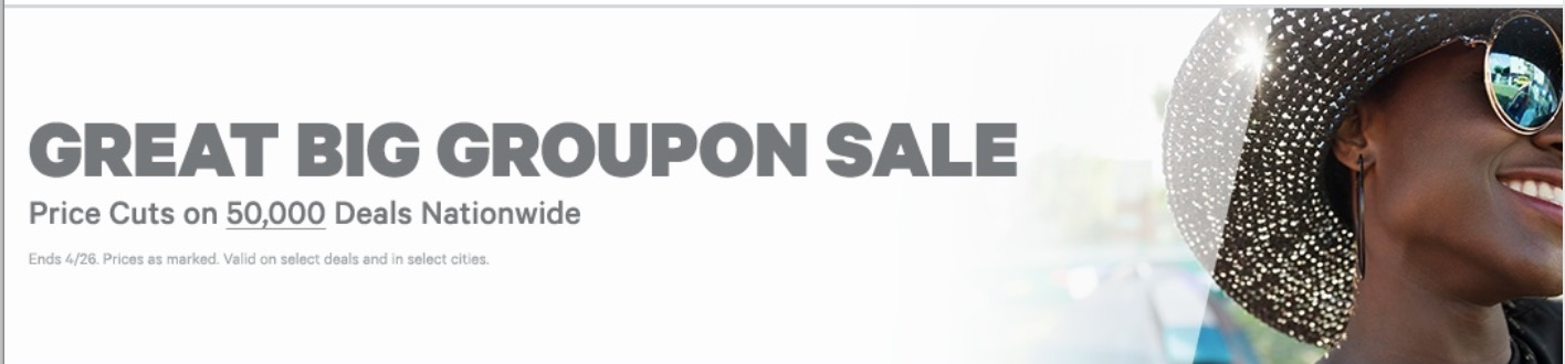 Groupon Canada Great Big Sale: Save up to 80% off on 50,000 Markdowns Deals Nationwide