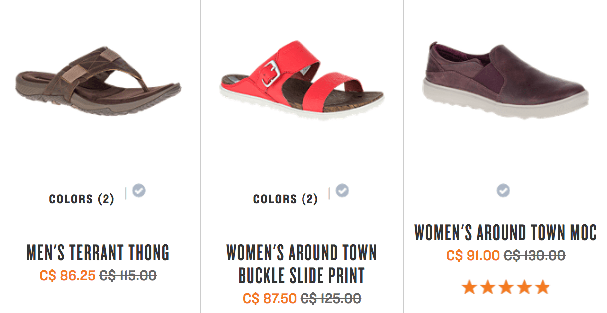 In addition, save 30% off Sale Shoes & Clothes for men, women and kids!