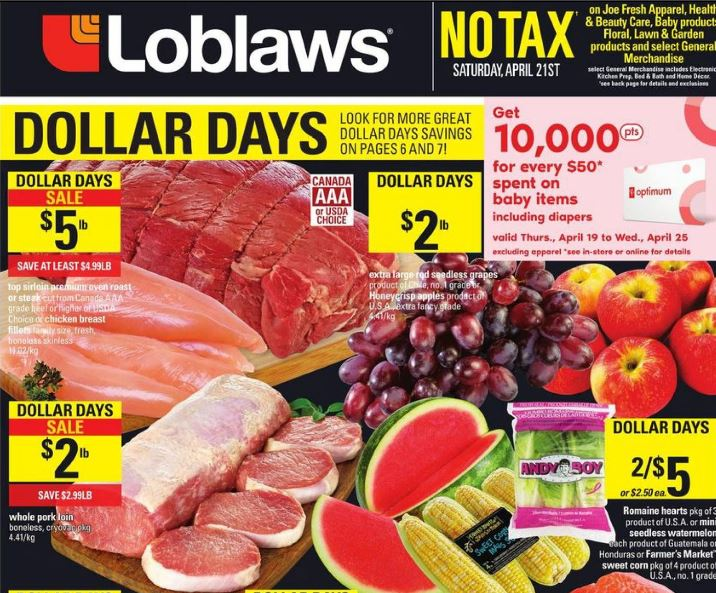 f2f97e0cf5 Be sure to head to Loblaws Ontario
