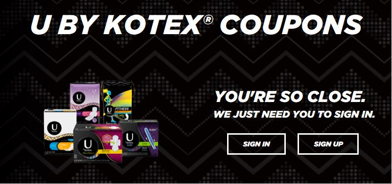 image regarding Kotex Printable Coupons identified as U By way of Kotex Canada: Fresh Substantial Truly worth Printable Discount codes