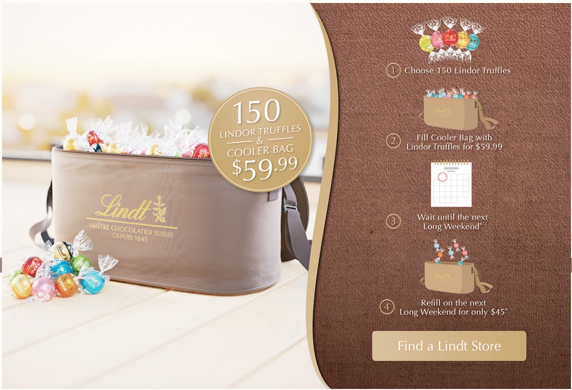 lindt chocolate canada contest