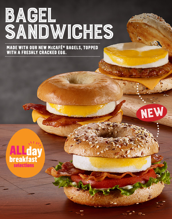 McDonald's Canada Offer: $1 Off Bagel Sandwiches ...