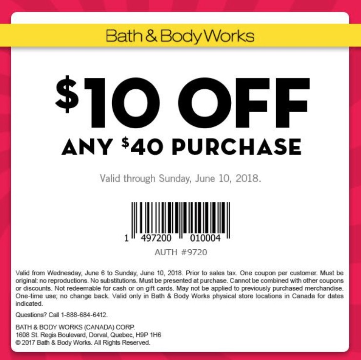Madison : Bath and body works coupon policy