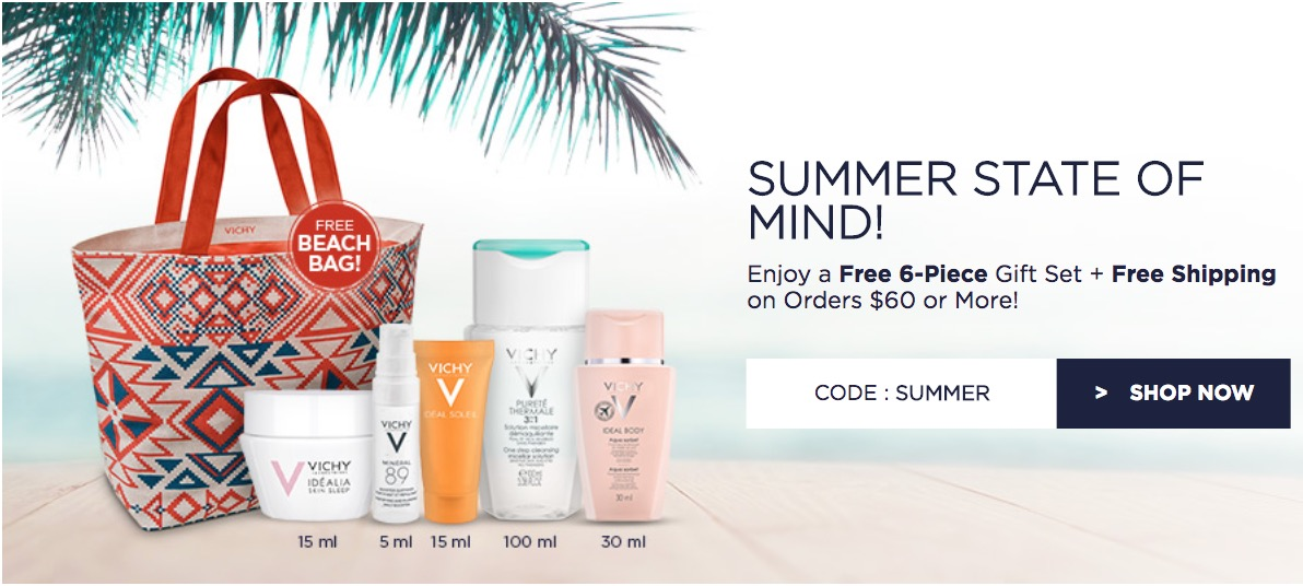 image relating to Vichy Coupon Printable identified as Vichy canada coupon codes : Elfa 30 off sale