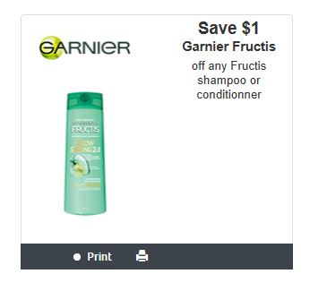 photo about Garnier Fructis Printable Coupon titled Canadian Discount coupons: Conserve $1 Upon Any Garnier Fructis Shampoo or
