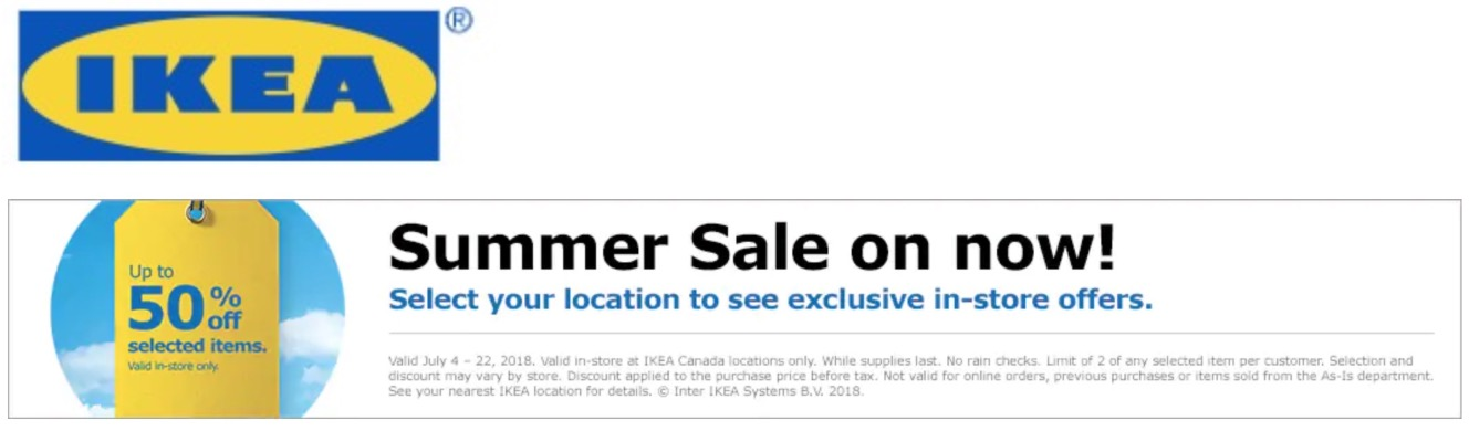 Ikea printable coupons canada