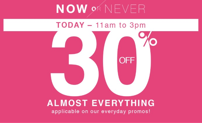 Penningtons Canada Flash Sale: Save 30% off Everything, Today, from 11 AM to 3 PM