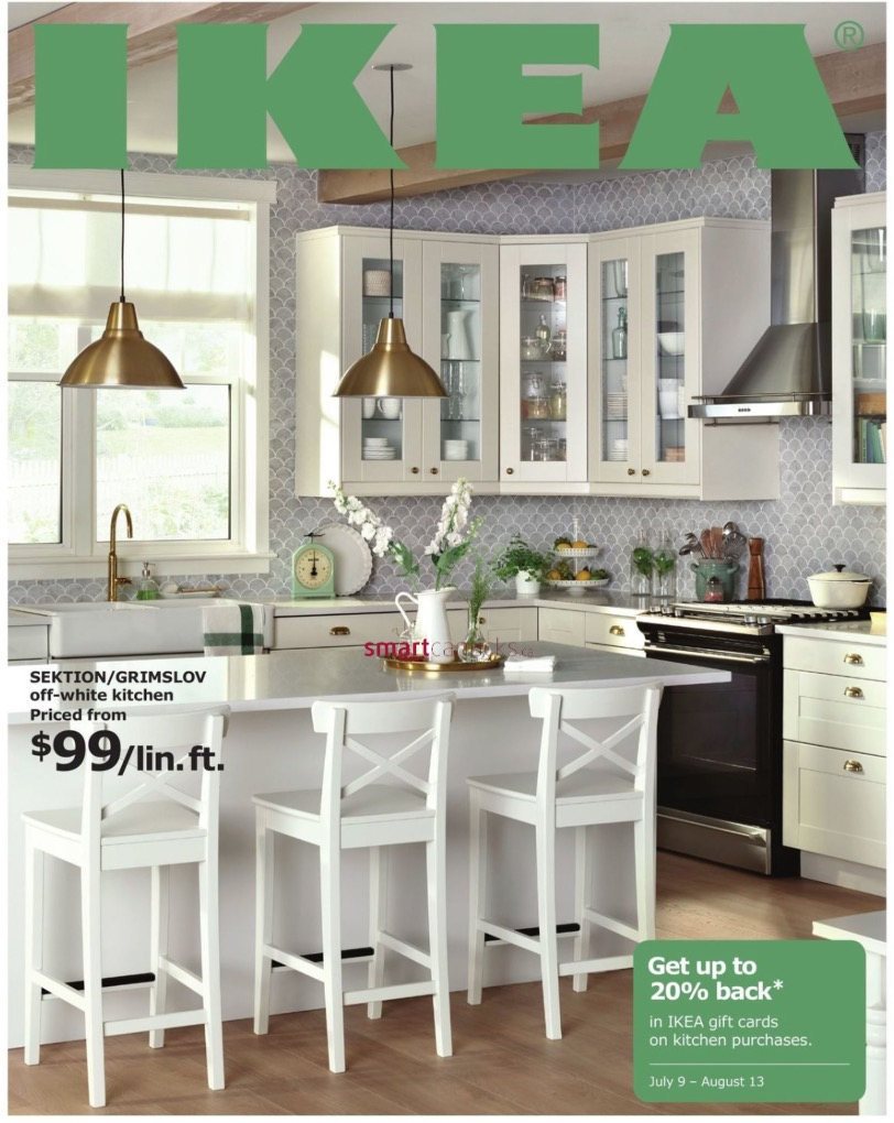 IKEA Canada Kitchen Event: Get Up To 20% Back In IKEA Gift Card On Kitchen  Purchase