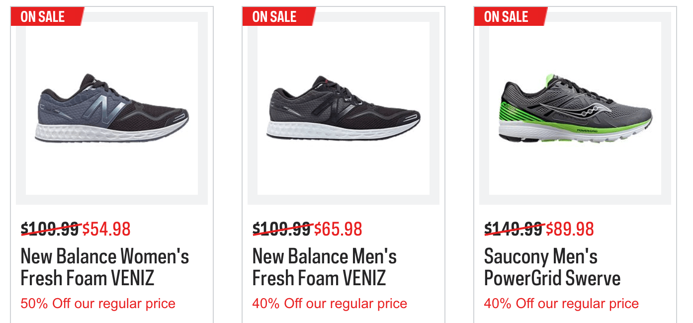 Sport Chek Canada Flash Sale Up To 60% Off Today Only + Up To 50% Off Weekly Deals + Free Shipping On All Orders