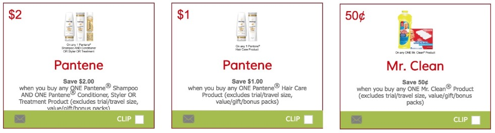 image about Mr Clean Coupons Printable known as Canadian Discount codes: Preserve $3.00 Upon Pantene Products and solutions and $0.50