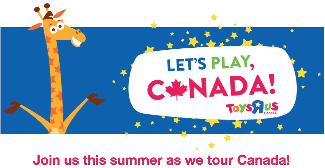 Toys R Us Canada FREE Summer Outdoor Play Activities, Today