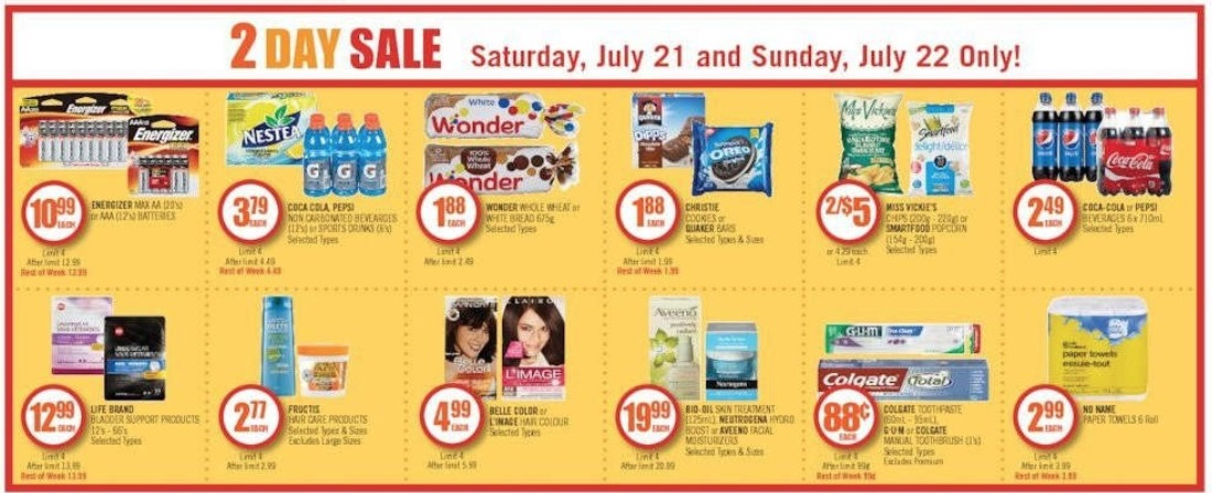 Shoppers Drug Mart Canada Super Spend Your Points 3 Days Event