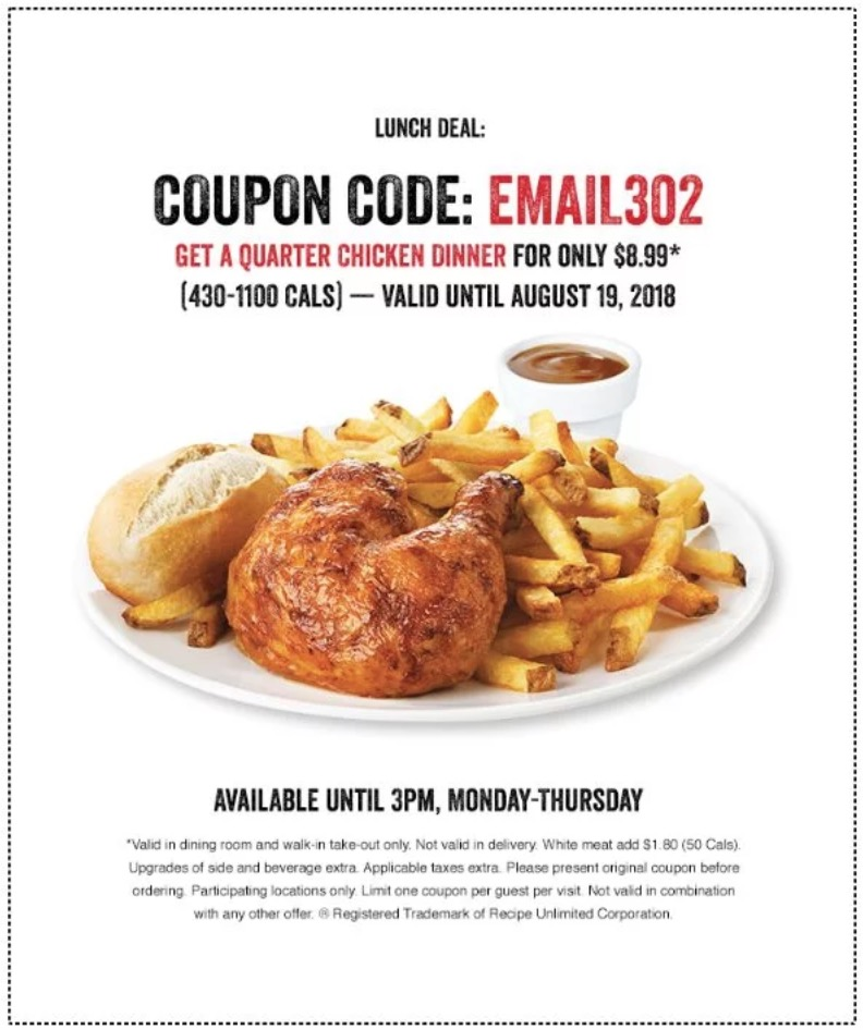 White house chicken coupons