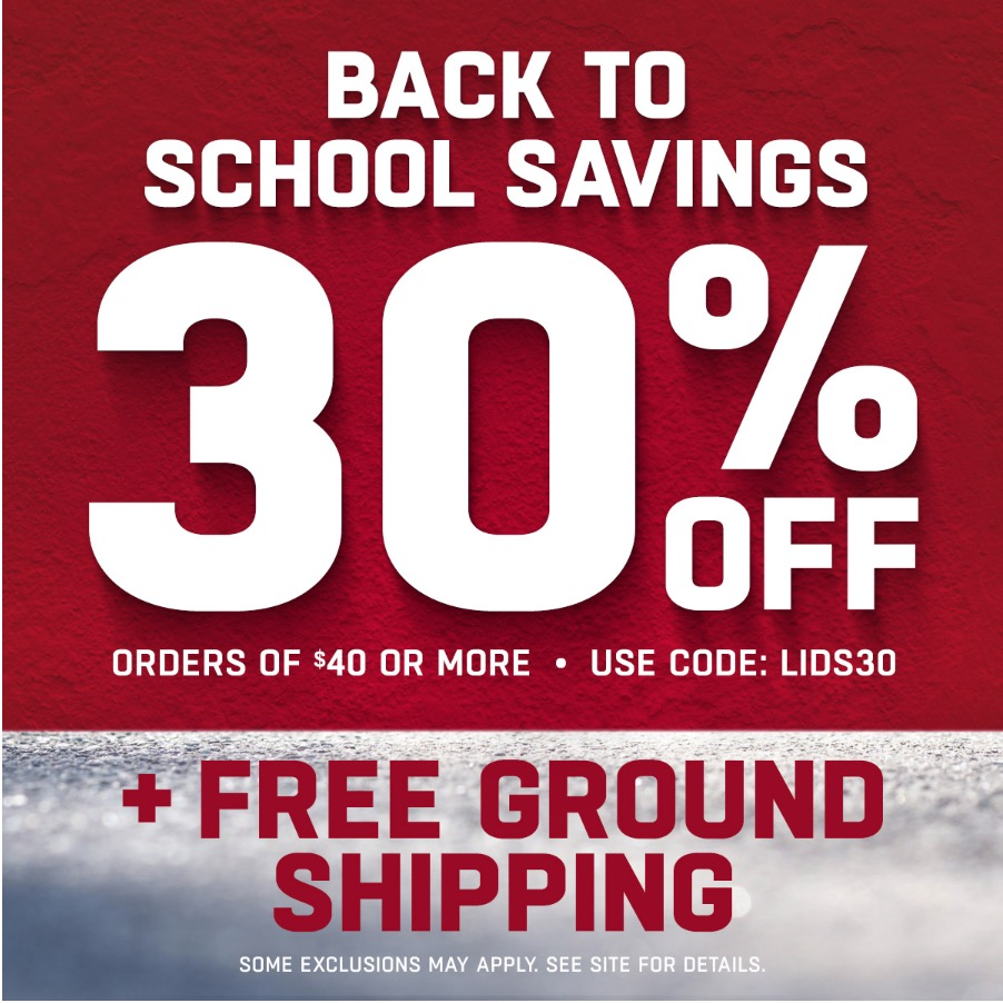 Lids Coupon Codes, Promos & Sales | December To find the latest December Lids coupon codes and sales, just follow this link to the website to browse their current offerings.