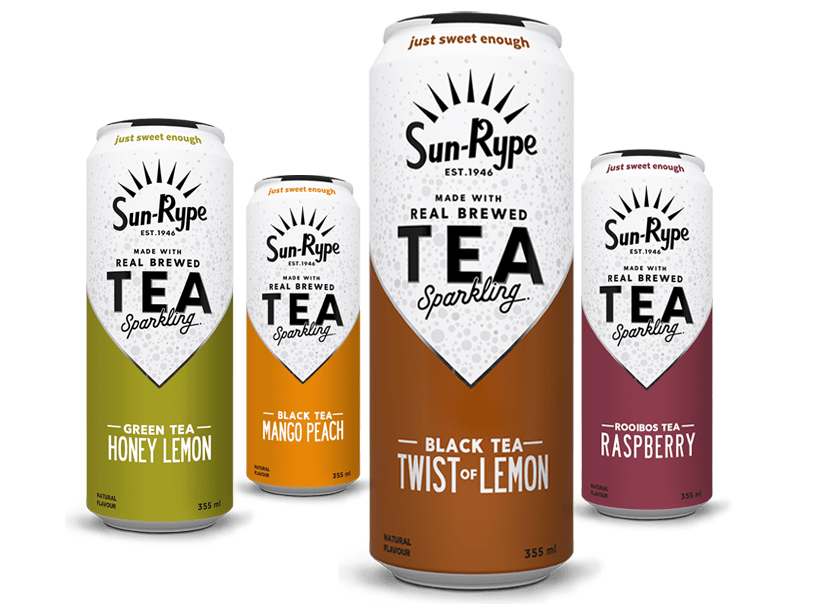 SunRype Canada Coupons: Buy One Get One Free SunRype Sparkling Tea