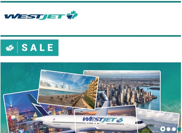 Westjet Canada The Best Ination Flights Tickets Seat Sale