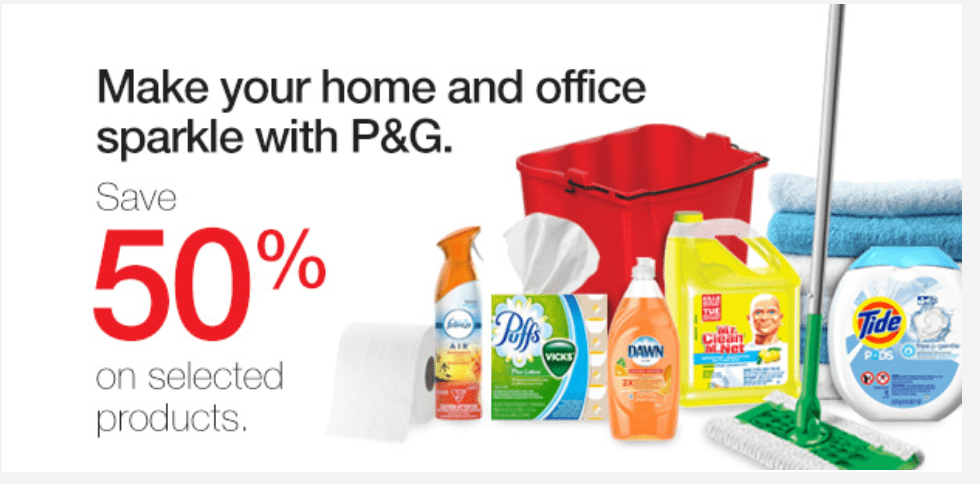 Staples Canada Sale: Save 50% Off P&G Cleaning Products