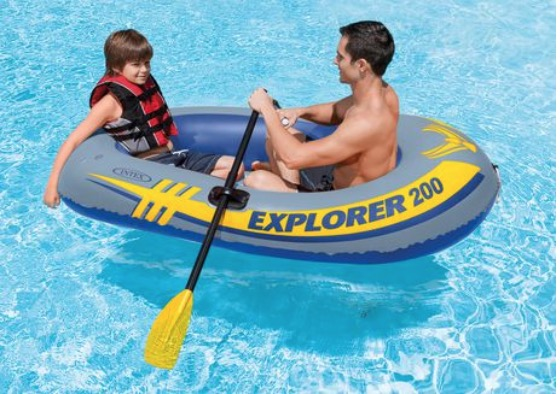 Walmart Canada Clearance Blowout Sale: Save 50% on Intex Trading Ltd. Intex 2-Person Explorer 200 Boat Set & 40% off LeapFrog Step & Learn Scout