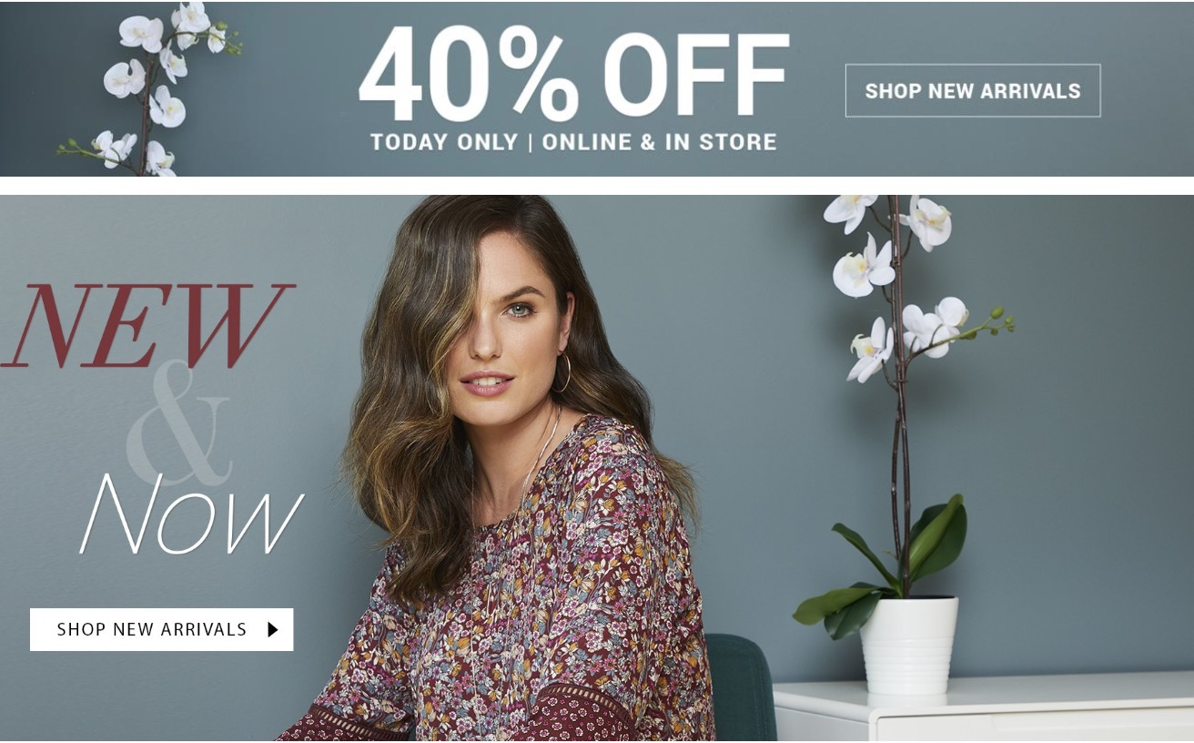 Suzy Shier Canada Sale: Save 40% off New Arrivals & 50% Off Sale Items, Styles as low as $4.45