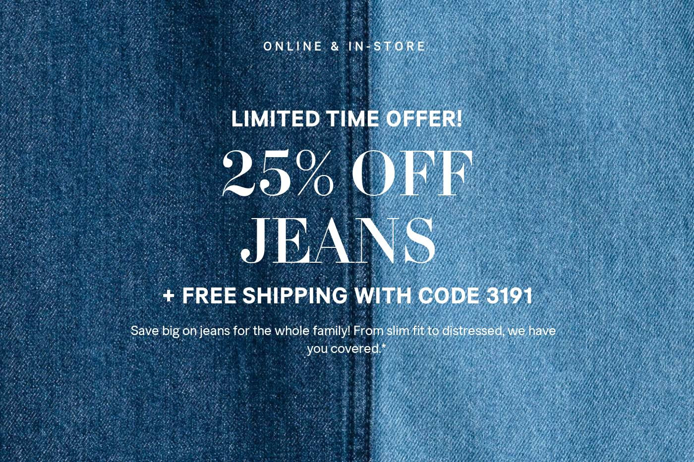H M Canada Sale Save An Extra 25 Off Free Shipping On Jeans