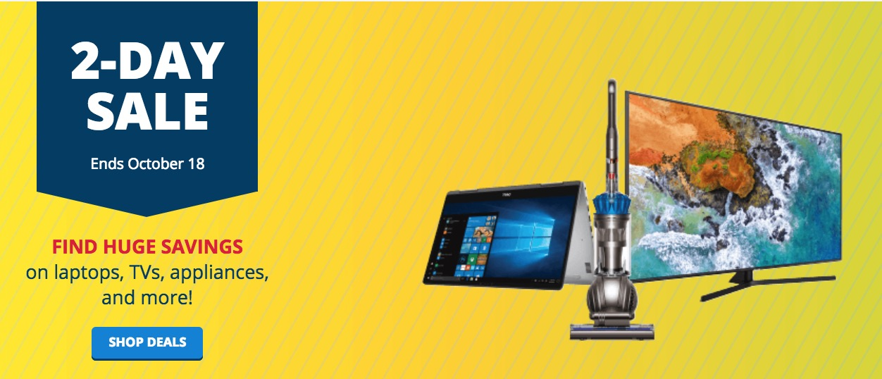 Best Buy Canada 2-Day Flash Sale: Huge Savings on Select Laptops, TVs, Appliances & More