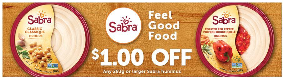 Walmart Canada New Coupons Save 1 00 Off Sabra Hummus Hot Canada Deals Hot Canada Deals