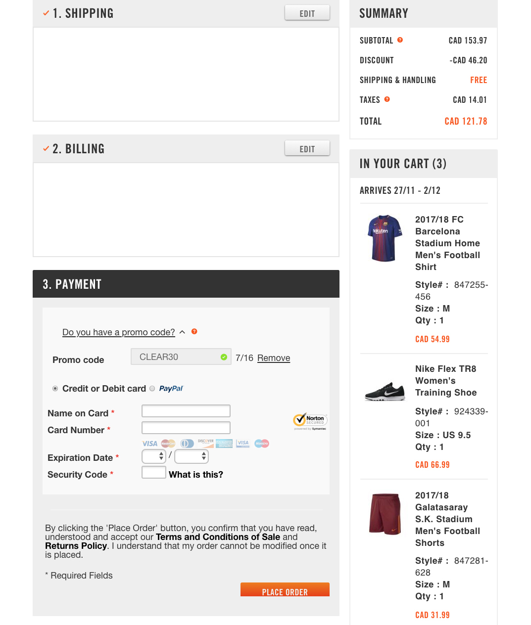 784f8a61998 Nike Canada Black Friday Sale  Save an Extra 30% off Sale + FREE Shipping  on All Orders