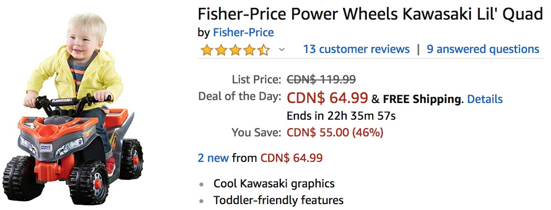 Amazon Canada Countdown To Black Friday Deals Of The Day