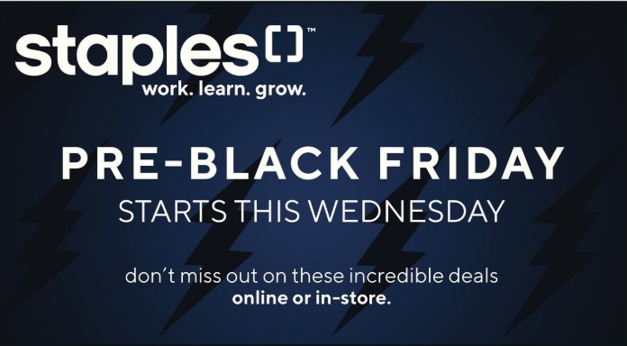 Staples Canada Pre Black Friday Flyer Sale & Online Deals