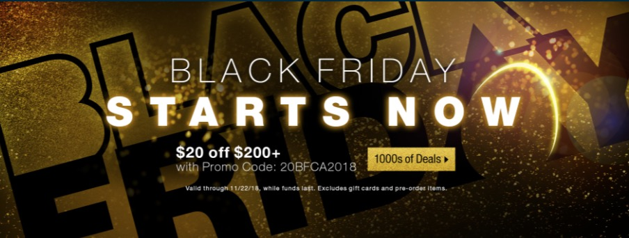 Newegg Canada Black Friday 2018 Week Sale