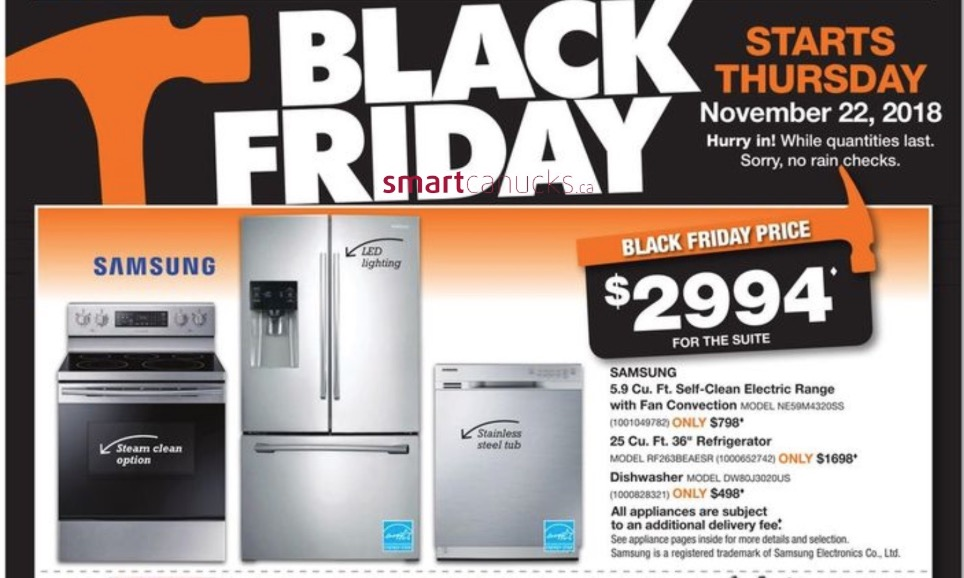 The Home Depot Canada Black Friday 2018 Flyer Deals Released!