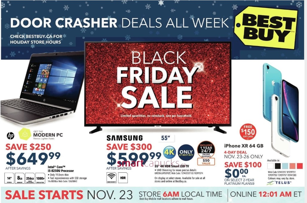 Best Buy Canada Black Friday 2018 Flyer Deals Released!