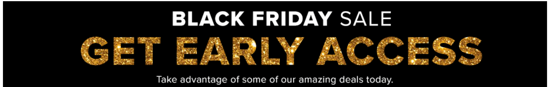 Hudson's Bay Canada Black Friday Early Access Sale!
