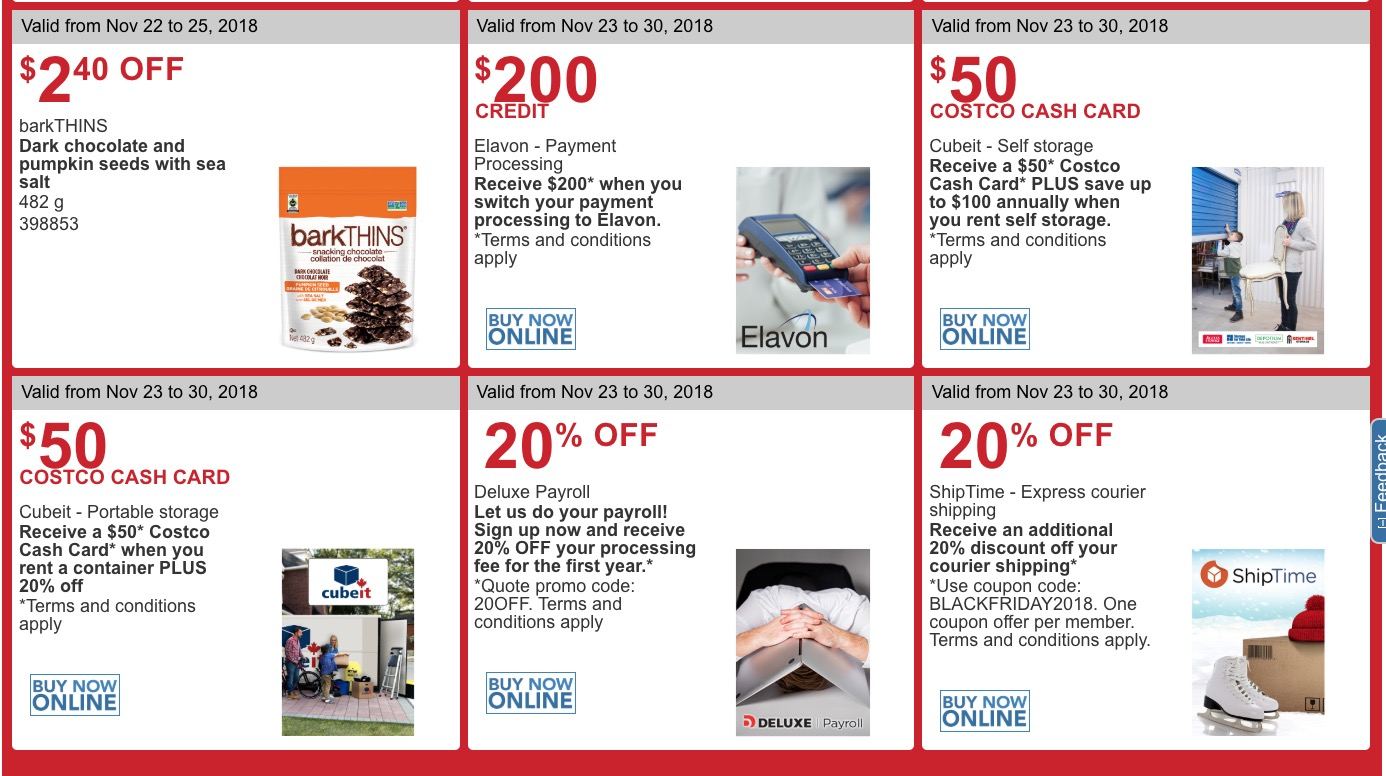 70b97760974 Costco Canada Black Friday 2018 Coupons Flyer is  LIVE now!