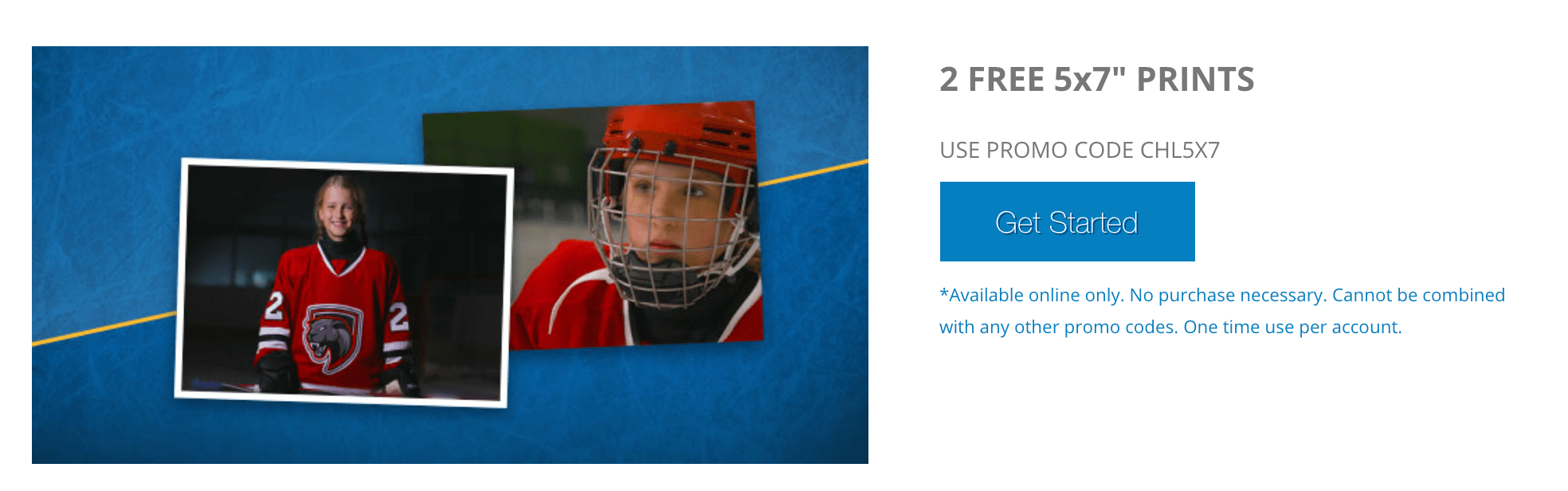 Walmart Photo Centre Canada Freebie: 2 FREE 5x7