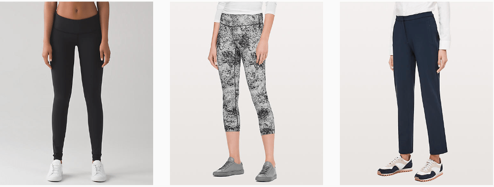 "cd7e76ca5199e Lululemon Canada is having a ""We Made Too Much sale"" where you can find  over 100 different styles on sale! Check out these styles below and also  enjoy FREE ..."