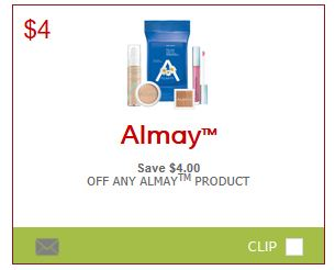 graphic regarding Almay Printable Coupons identified as SmartSource Canada Coupon codes: Help save $4 Upon Almay Substance