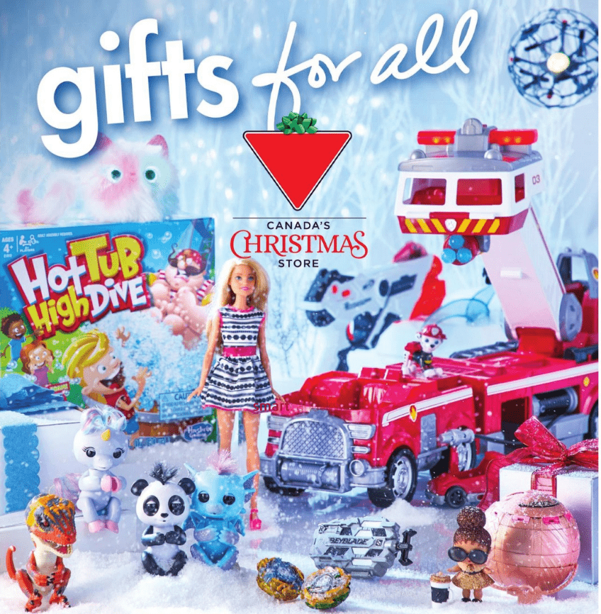 Canadian Tire Canada Gifts for All Event: Save up to 40% on Toys, 75