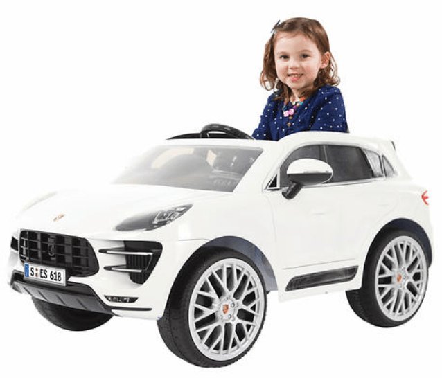 Costco Canada Holiday HOT Buy: Save 50% Off Rollplay Porsche Macan 6 V Battery Ride-on Vehicle, With FREE Shipping