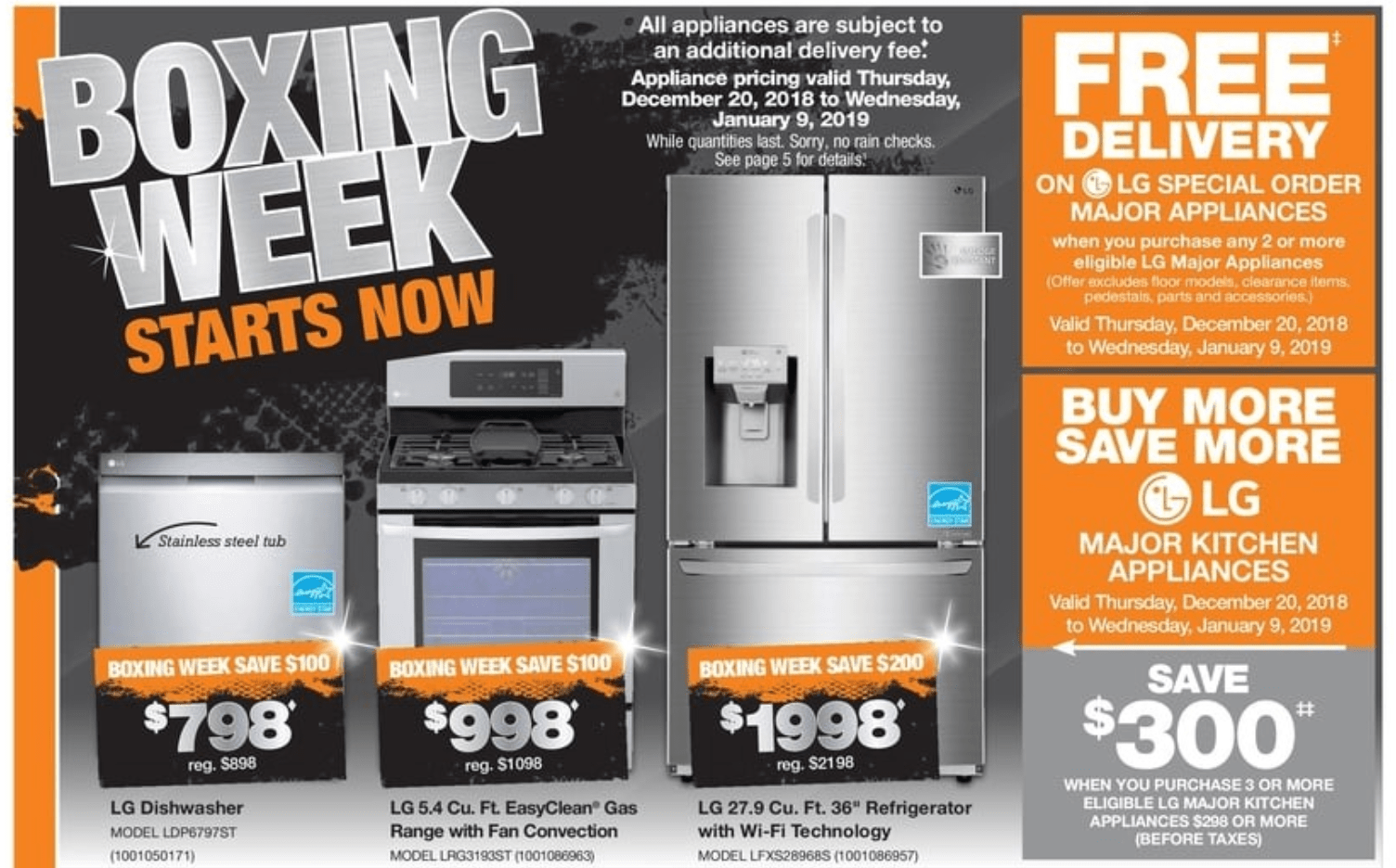 The Home Depot Canada Boxing Day Flyer Sale Starts Today
