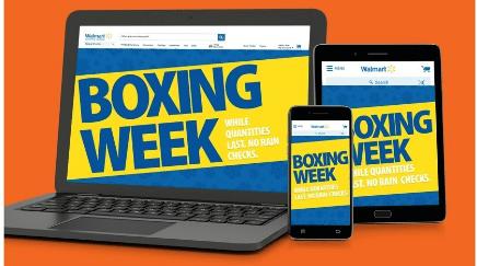 Walmart Canada Boxing Day Canada