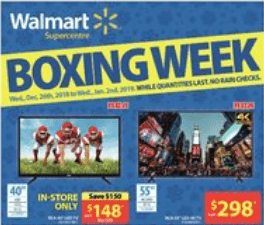 91dc55efff6 Walmart Canada Boxing Week 2018 Flyer & Deals