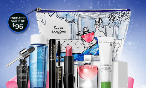 Lancôme Canada Holiday Deals: FREE Gift ($96 Value) with