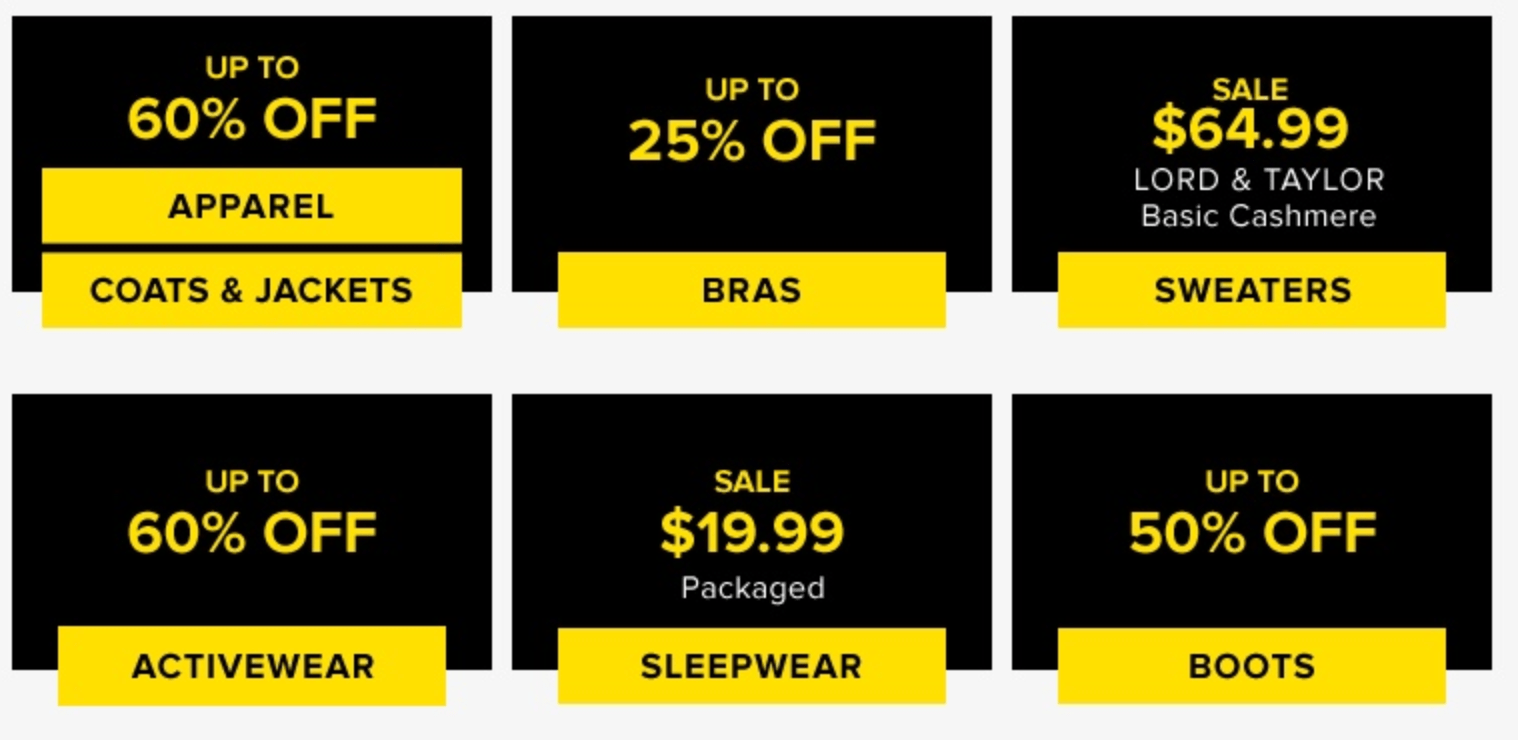 6c1c1e65857a Boxing Day has arrived early at Hudson's Bay Canada! Shop online today and  you will save up to 70% off a wide variety of items.
