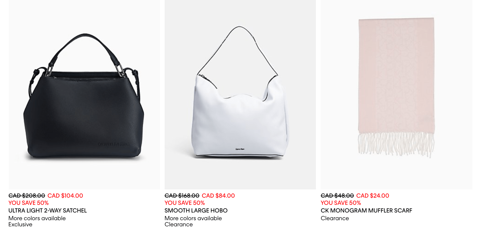 Calvin Klein Canada Boxing Day Sale  Save 30% Off Sitewide Including ... fd46eb936f2