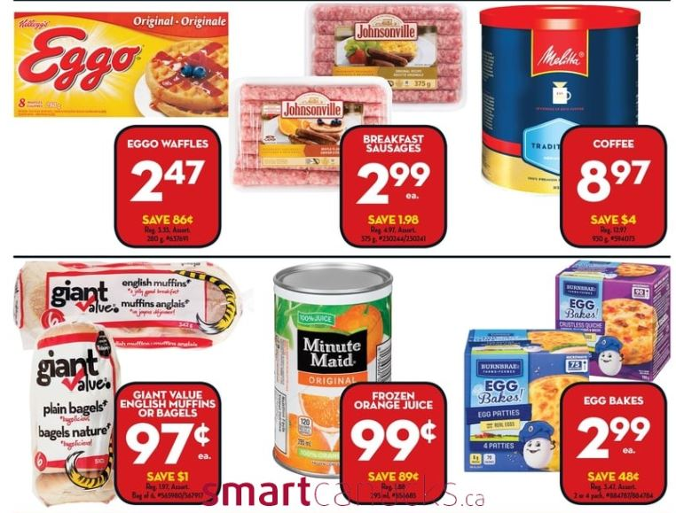 This Week Giant Tiger Canada Has Johnsonville Breakfast Sausages On Sale For 299 If You Have Requested Coupons From The Company Year At Any Time