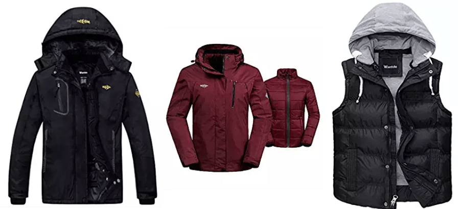 Amazon Canada Deals Of The Day: Save 20% Off Select Outerwear from Wantdo Fashion, today from$29.59 – $83.20
